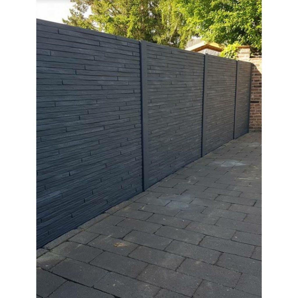 Antraciete betonplaten